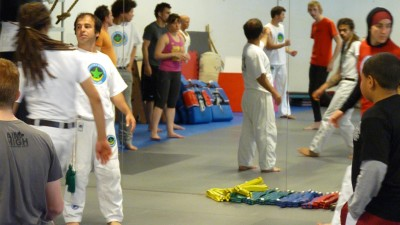 Mestre Gulliver Playshop at Aimhigh Martial Arts